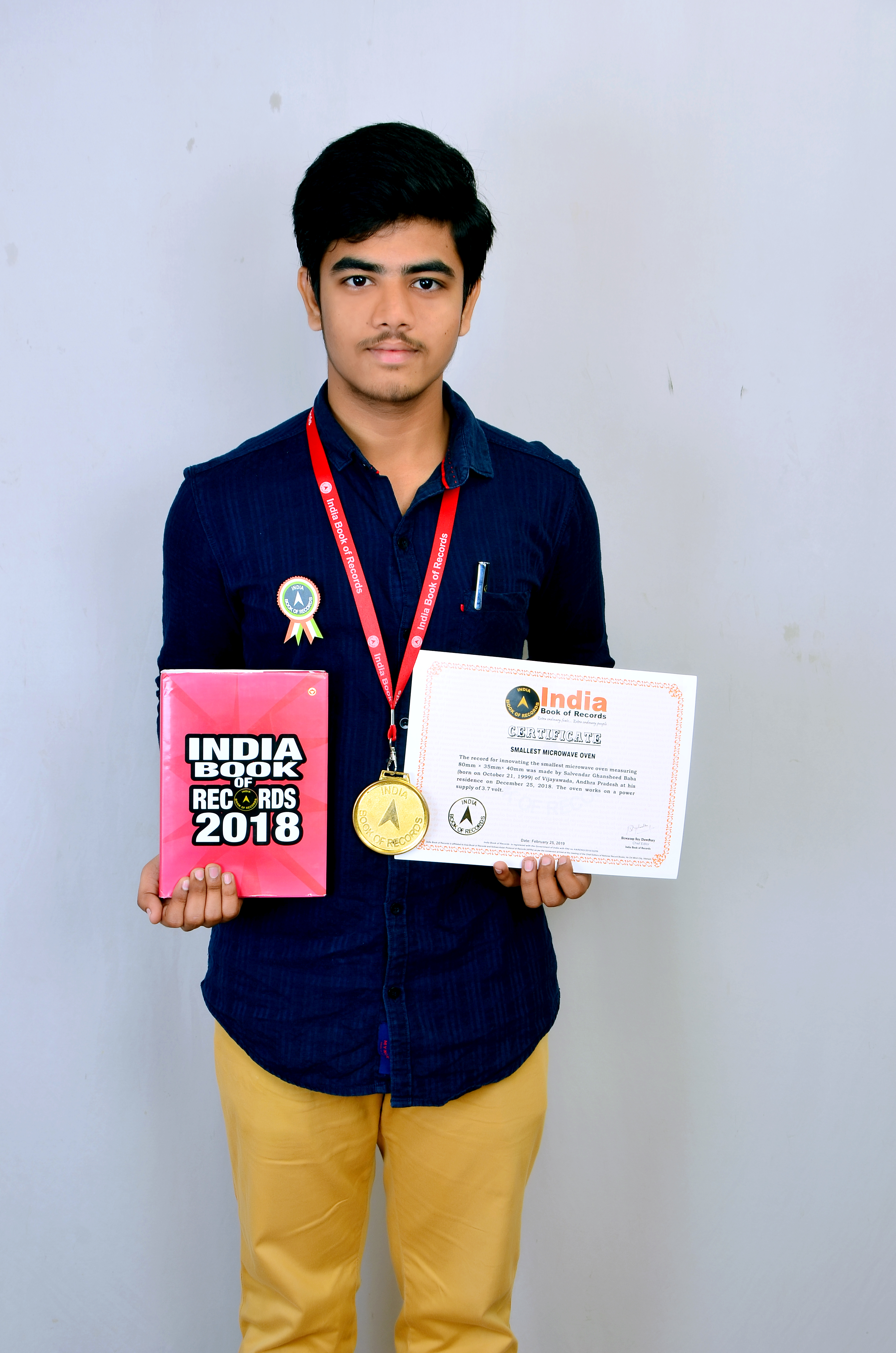 Smallest Microwave Oven India Book Of Records
