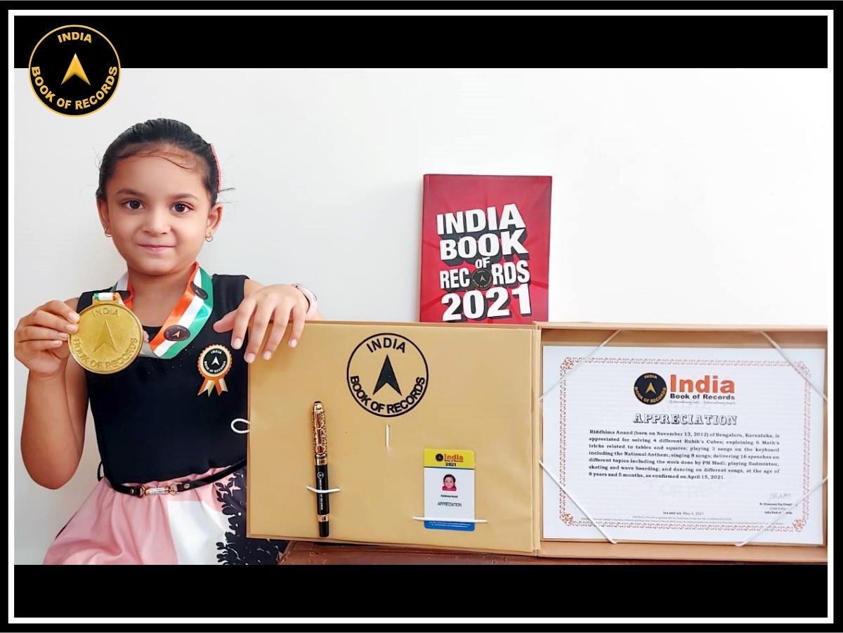 Riddhima Anand – Appreciation